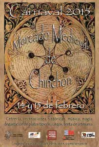 cartel mercado medieval chinchon 2015