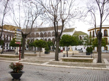 Plaza mayor de Osuna