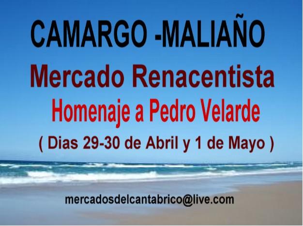 cartel del 1 de Mayo Velarde