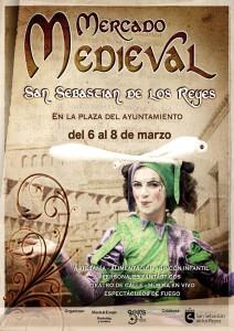 Cartel del mercado medieval de San Sebastian de los Reyes, Madrid