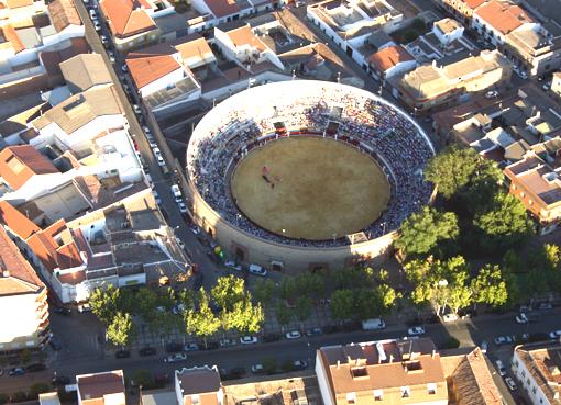Vista de la Plaza de toros