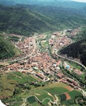 Vista aerea de Ripoll