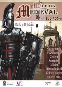 Cartel del mercado medieval de otro año