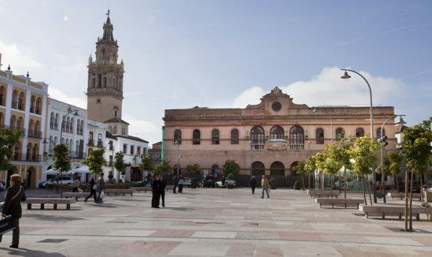 Plaza España de Ecija