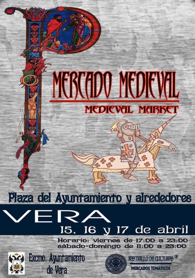 Mercado medieval en Vera, ALmeria