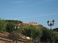 Vista desde el flanco norte del Castillo de Guardamar, del siglo XIV