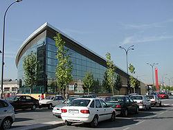 Estación de tren y metro de Getafe Central.