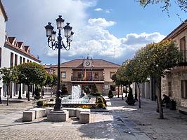 Plaza de la Constitución de Torrelodones.