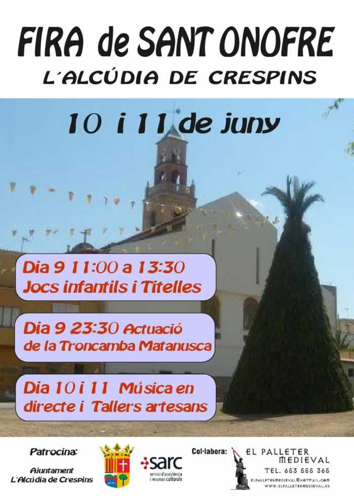 Festes San Onofre en Alcudia de Crespins