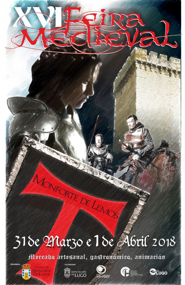 XVI Feira medieval en Monforte de Lemos, Lugo