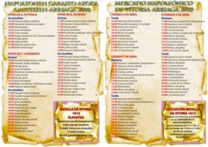MERCADO NAPOLEONICO (GOYESCO) DE LAKUA ARRIAGA-VITORIA , Alava del 06 al 08 de Abril del 2018