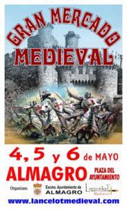 Cartel del MERCADO MEDIEVAL en Almagro, Ciudad Real
