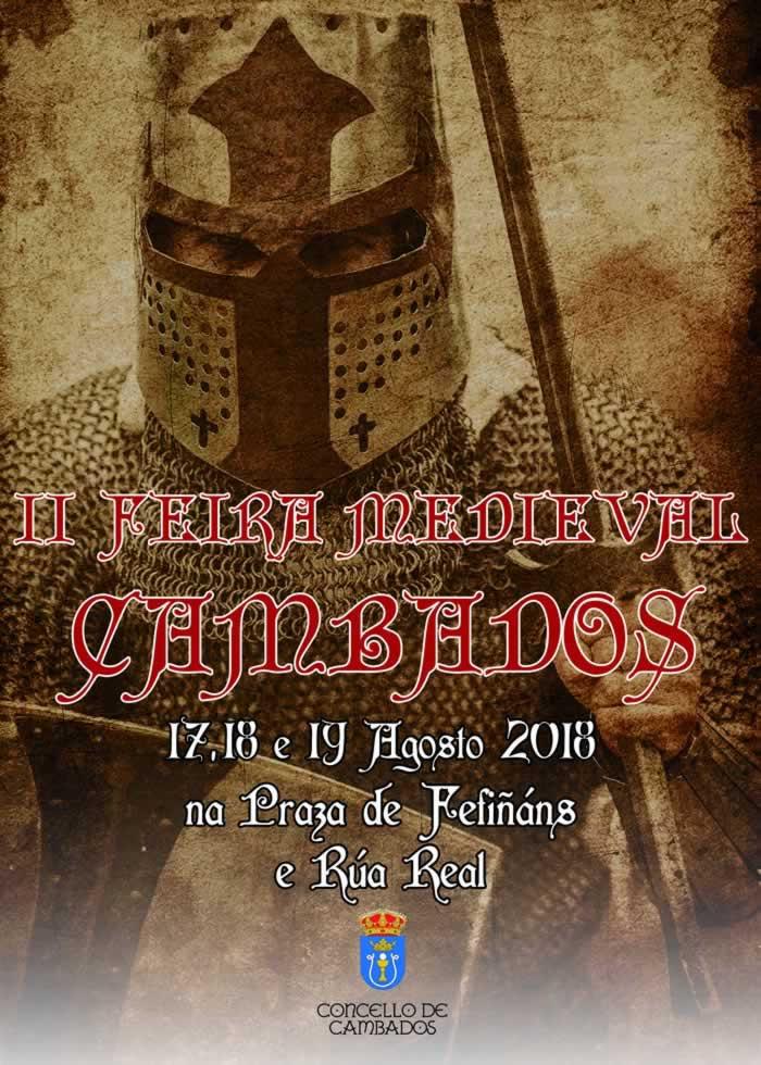CARTEL FEIRA MEDIEVAL CAMBADOS