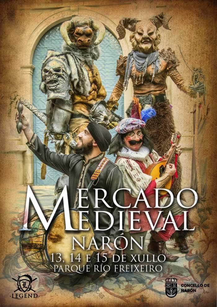 Cartel de Naron medieval