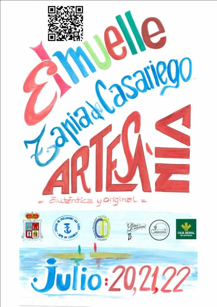 CARTEL FERIA MUELLE 2018 Tapia de Casariego