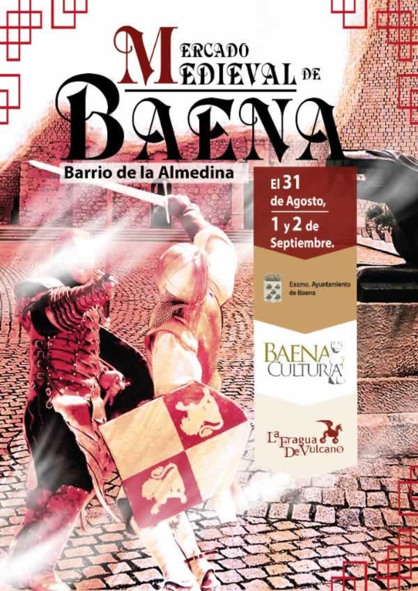 Mercado medieval Baena , Cordoba del 31 de Agosto al 02 de Septiembre del 2018