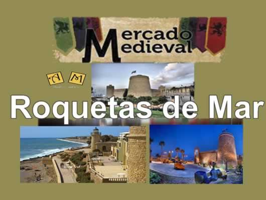 Mercado medieval Roquetas de Mar
