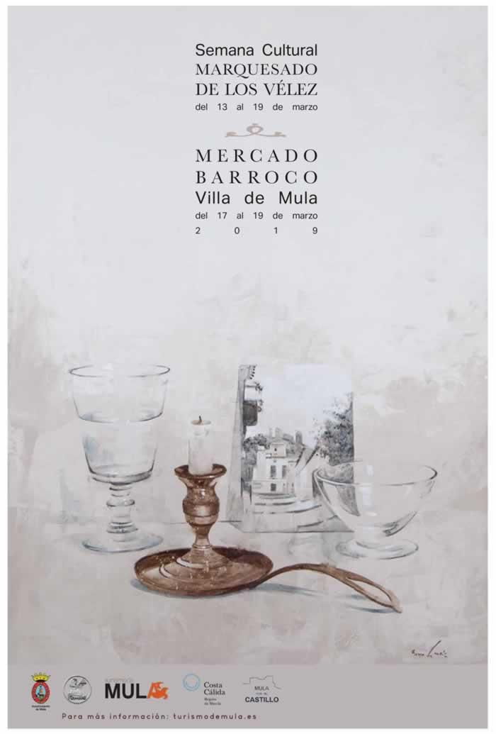 Cartel mercado barroco