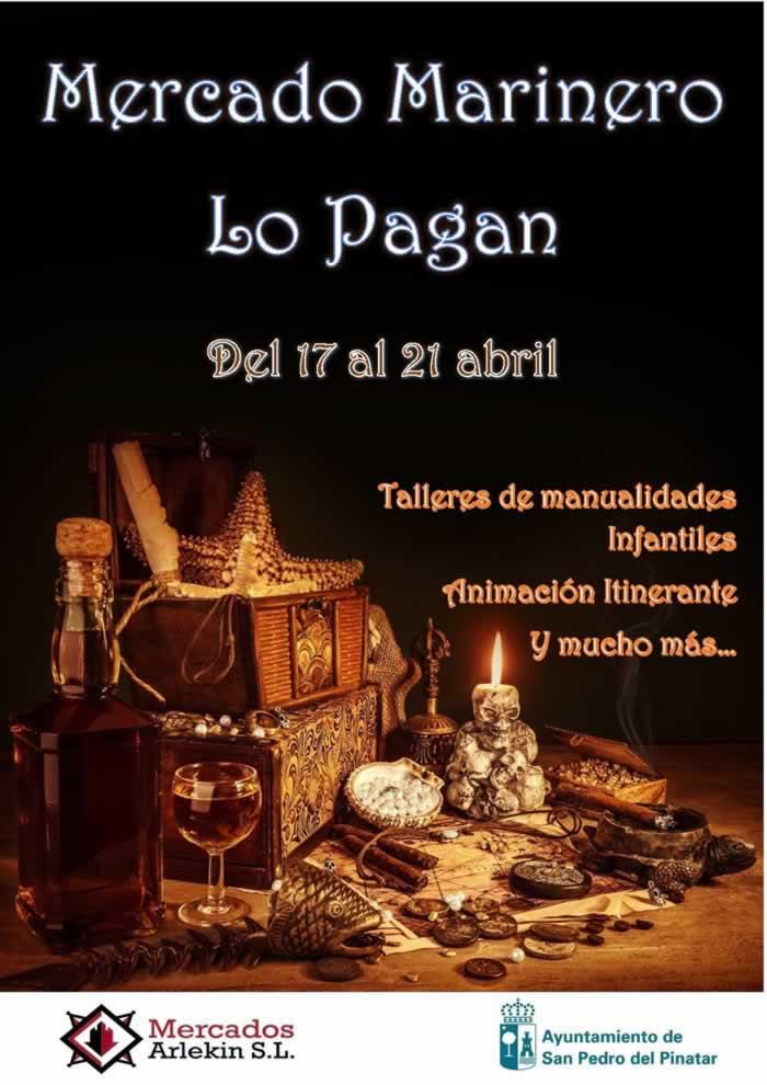 [19 al 21 de Abril] Mercado marinero en Lo Pagan, Murcia