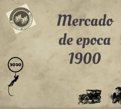 Mercado de epoca 1900