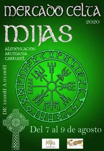 Cartel del mercado celta en Mijas