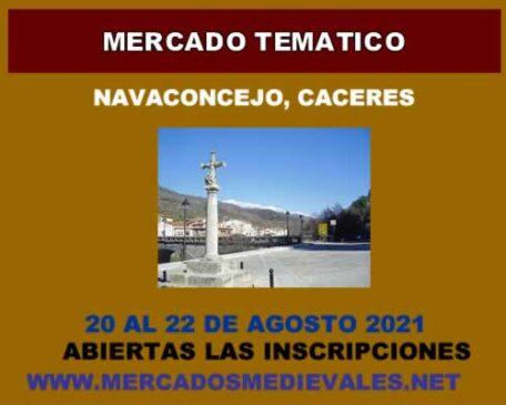 Mercado tematico en Navaconcejo