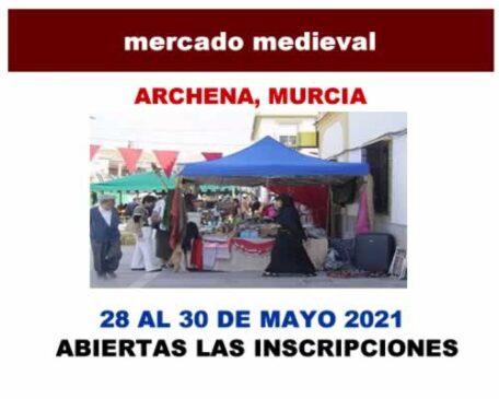 mercado medieval archena