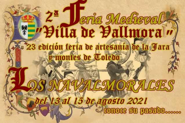 """2da feria medieval """" Villa de Vallmora"""" en Los Navalmorales, Toledo"""
