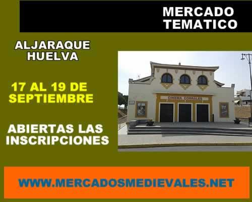 Mercado tematico en Aljaraque