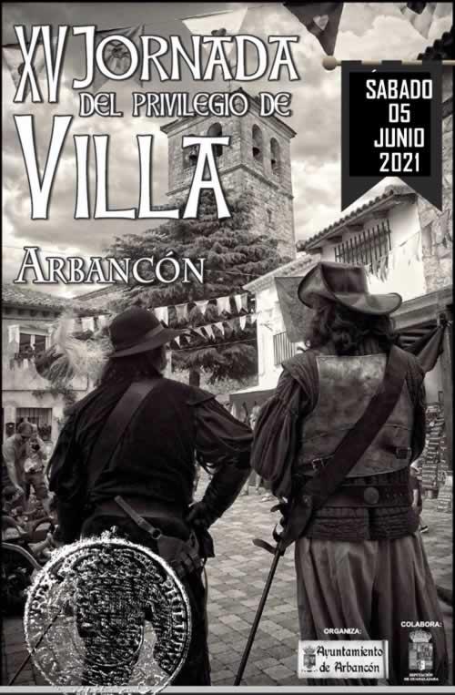 Jornada del Privilegio de Villa en Arbancon, Guadalajara