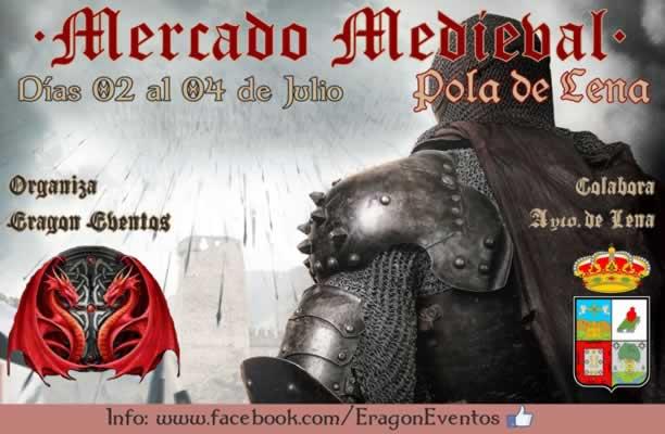 Mercado medieval en Pola de Lena