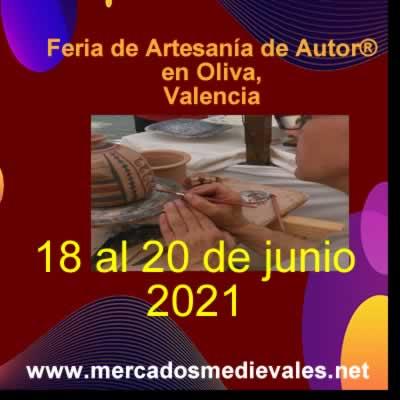 Feria de Artesanía de Autor® en Oliva