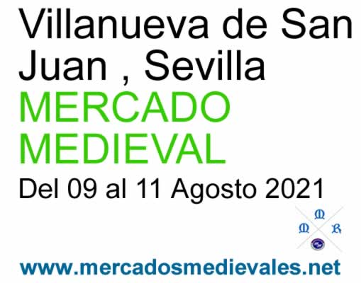 Mercado medieval eb Villanueva de San Juan