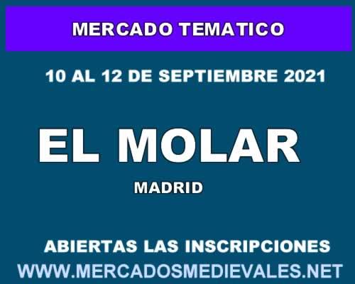 Mercado tematico en El Molar