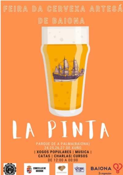 Feria de la cerveza artesana en Baiona