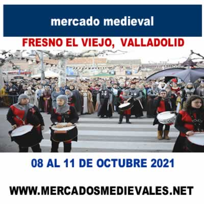 Mercado medieval en Fresno El Viejo