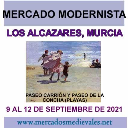 MERCADO MODERNISTA LOS ALCAZARES