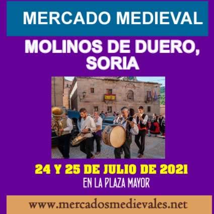 Mercado medieval en Molinos de Duero, Soria