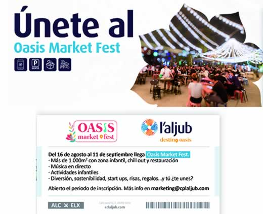 Oasis market fest