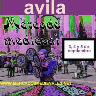Avila mercado medieval