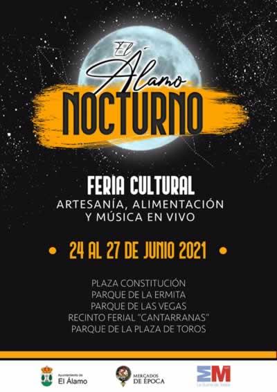 [JUNIO 2021] El Alamo Nocturno, Feria cultural