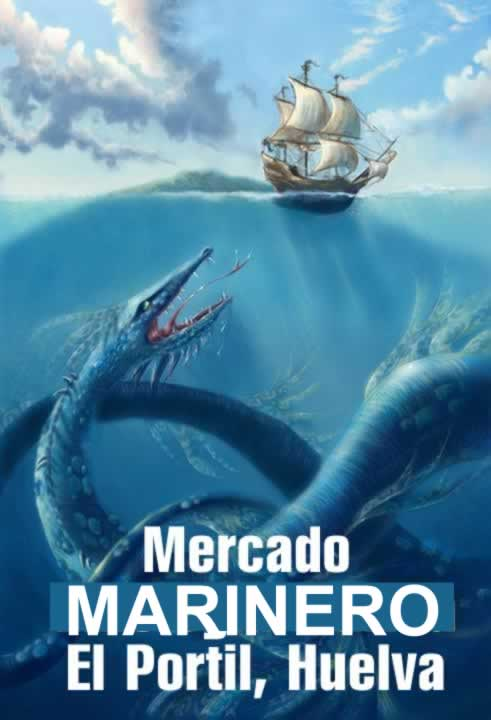 MERCADO MARINERO EN EL PORTIL (HUELVA)