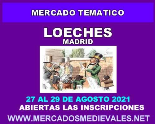 Mercado tematico en Loeches