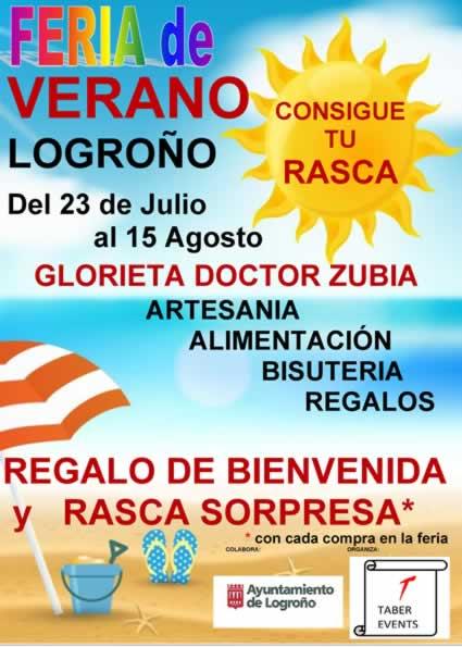 Feria de verano en Logriño
