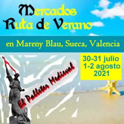 mercado ruta de verano en Mareny Blau