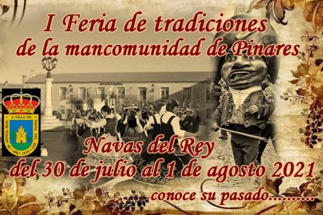 I Feria de tradiciones de la mancomunidad de Pinares en Navas del Rey, Madrid