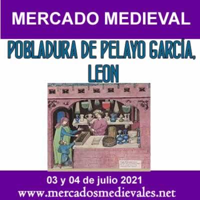 mercado medieval Pobladura de Pelayo García
