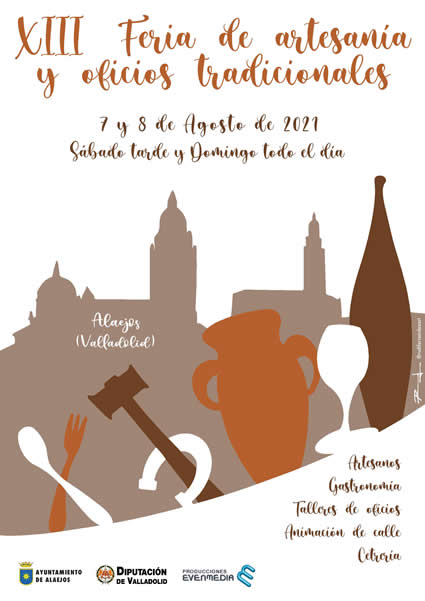 Feria de artesania y oficios tradicionales en Alaejos (Valladolid )