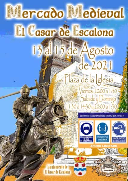[13-15 AGOSTO 2021] Mercado medieval en El Casar de Escalona, Toledo