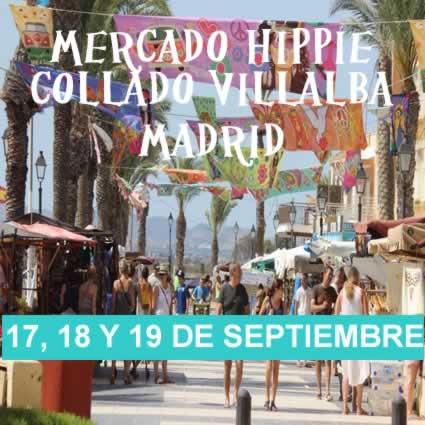 Mercado hippie en Collado Villalba